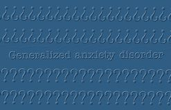 Anxiety disorder Stock Photography