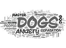 Anxiety Fear And Possible Treatment Word Cloud. ANXIETY FEAR AND POSSIBLE TREATMENT TEXT WORD CLOUD CONCEPT royalty free illustration