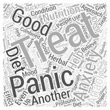 Anxiety and panic attack 04 word cloud concept  background Royalty Free Stock Photography