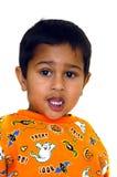 Anxious child Royalty Free Stock Photo