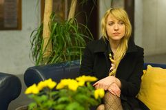 Anxious Professional Woman - 4 Stock Image