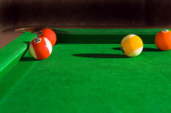 Any colored billiard balls Stock Photos