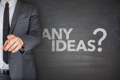 Any ideas on blackboard Stock Images