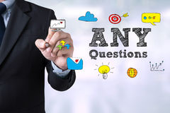 Any questions ? Royalty Free Stock Image