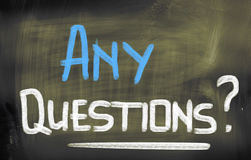 Any Questions Concept Stock Image