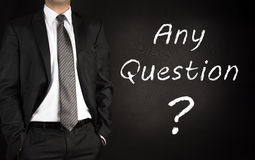 Any Questions ? Royalty Free Stock Photos