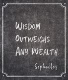 Any wealth Sophocles quote stock images