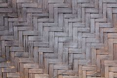 Anyaman de bambu feito a mão tradicional Indonésia imagens de stock