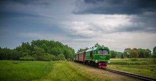 Anyksciai λίγο τραίνο Στοκ εικόνες με δικαίωμα ελεύθερης χρήσης