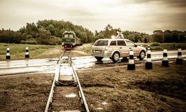 Anyksciai λίγο τραίνο Στοκ φωτογραφία με δικαίωμα ελεύθερης χρήσης