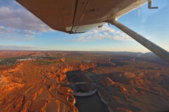 anyon θαυμάσιο αεροπλάνο φρ&alph Στοκ Εικόνα