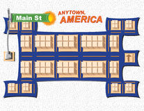Anytown USA Stock Photos