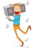 Anywhere anytime music Royalty Free Stock Photo