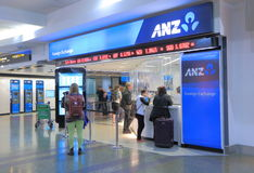 ANZ bank Obraz Royalty Free