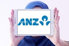 ANZ bank logo Royalty Free Stock Image