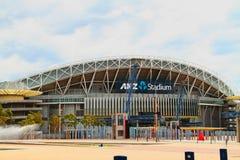 ANZ-stadion på Sydney Olympic Park arkivbilder