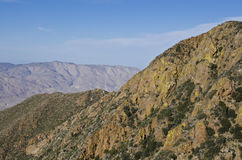 Anza Borrego Desert. An expansive view of the Anza Borrego Desert State Park from high in the Laguna Mountains east of San Diego, California. This is along the stock photo