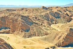 Anza-Borrego Desert:  Badlands Royalty Free Stock Images