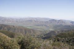 Anza Borrego Desert Landscape. Of mountain range and fields Royalty Free Stock Image
