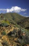 Anza-Borrego Desert near San Diego. Dry hills in Anza-Borrego desert near San Diego, California stock photo