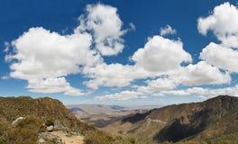 Anza-Borrego Desert State Park, California. Dramatic Cloudscape at Anza-Borrego Desert State Park, Southern California, USA stock photos