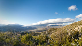 Anza-Borrego Desert State Park Panoramic Overlook Royalty Free Stock Photography