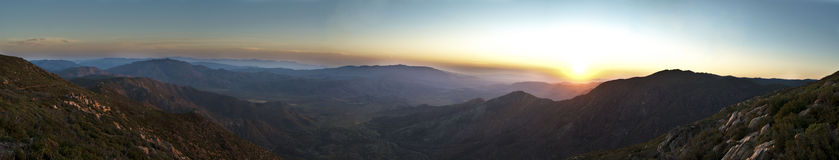 Anza-Borrego Sunrise Stock Image