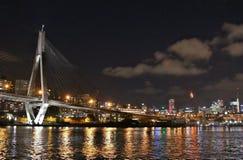 anzac桥梁悉尼 免版税库存照片
