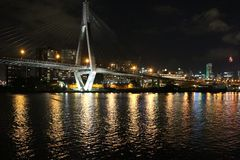 anzac桥梁悉尼 库存图片