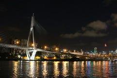 anzac桥梁悉尼 免版税图库摄影