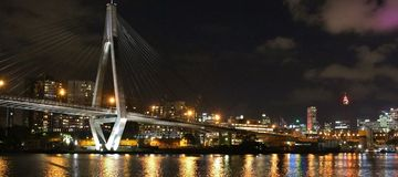 anzac γέφυρα Σύδνεϋ Στοκ εικόνες με δικαίωμα ελεύθερης χρήσης