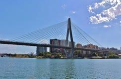 anzac γέφυρα Σύδνεϋ Στοκ Φωτογραφίες