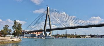 anzac γέφυρα Σύδνεϋ Στοκ φωτογραφία με δικαίωμα ελεύθερης χρήσης