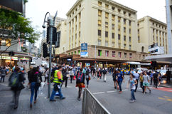 ANZAC τετραγωνικά Arcade - Μπρίσμπαν Αυστραλία Στοκ φωτογραφία με δικαίωμα ελεύθερης χρήσης