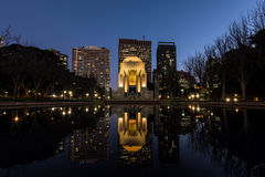ANZAC мемориальный Сидней на ноче Стоковые Изображения