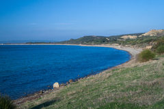 ANZAC Beach Turkey. Scene of an important battle during WW1 royalty free stock images