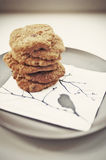 Anzac Biscuits Royalty Free Stock Image