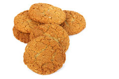 Anzac Biscuits. An Australian icon, made from rolled oats and coconut stock photos
