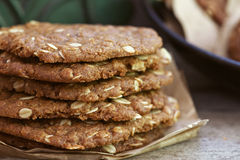 Anzac Biscuits Royalty Free Stock Photo