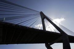 Anzac Brücke lizenzfreie stockbilder