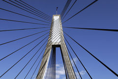 Anzac Brücke, Sydney, Australien stockbild