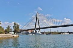 anzac bridżowy Sydney Obraz Royalty Free