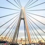 Anzac Bridge imagenes de archivo