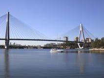 Anzac Bridge Stock Photo