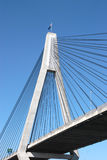 Anzac Bridge. Showing cables and pylon, Sydeny NSW royalty free stock photos