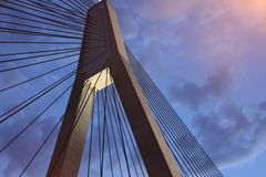 Anzac Bridge Stock Images