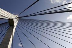 Anzac Bridge Pylon Stock Image