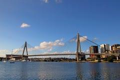 Anzac Bridge Royalty Free Stock Photography