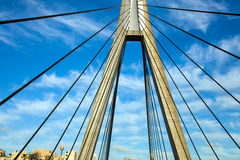 Anzac Bridge Sydney Australia photographie stock libre de droits