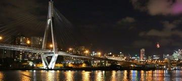 Anzac Bridge, Sydney Royalty Free Stock Images